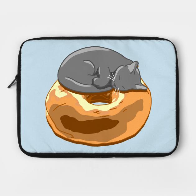 Bagel Cat - Grey