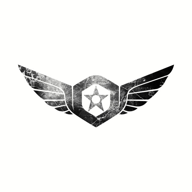 Gypsy Danger Logo (Black)