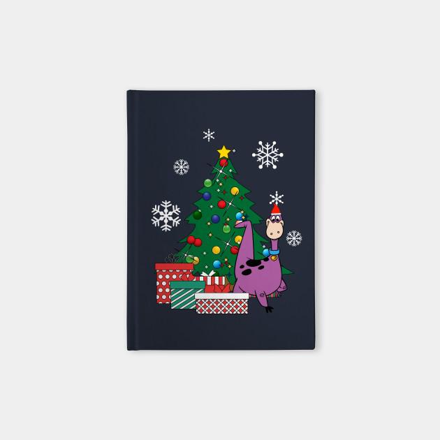 Dino Around The Christmas Tree Flintstones