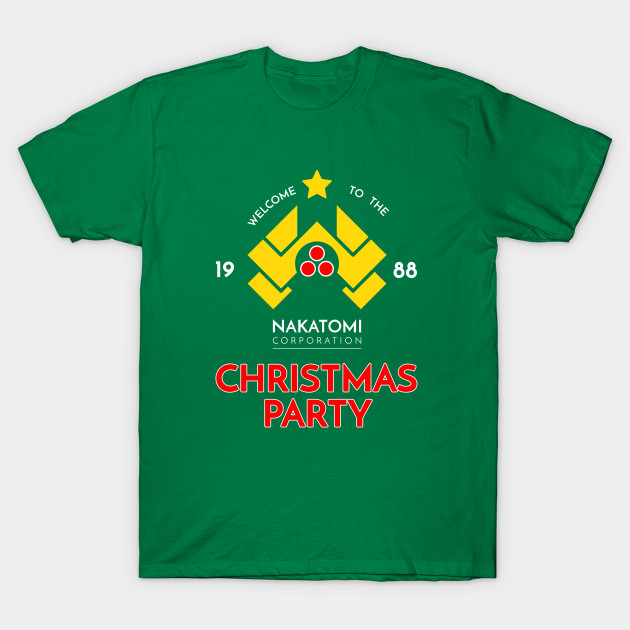 Nakatomi Corp Christmas Party 1988 T-Shirt