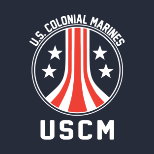 USCM US Colonial Marines t-shirts