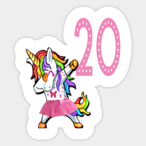 20th Birthday Gift For Women Stickers