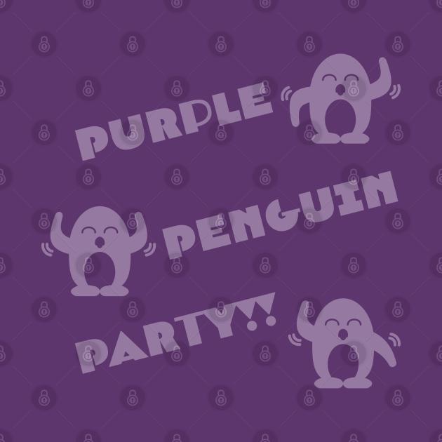 Purple Penguin Party