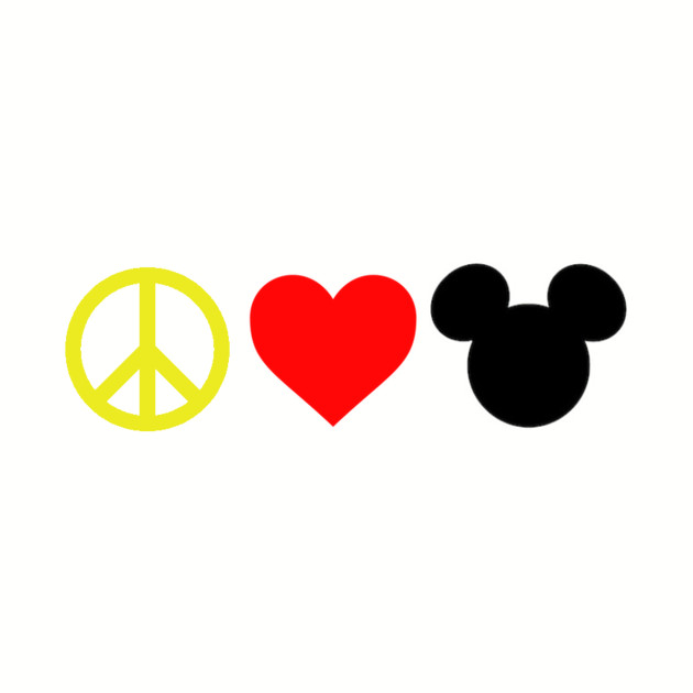 Peace, Love, Mickey