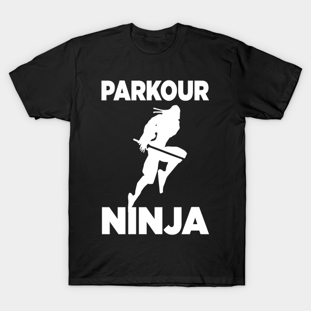 Free Running Mens T-Shirt Parkour Cool