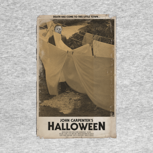 Halloween Movie Poster Tee t-shirts