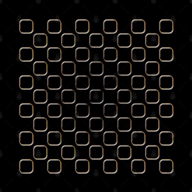 Embossed Square Motif 05