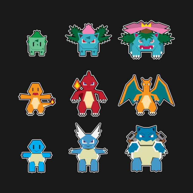 Pokemon Kanto Starter Pokemon Images   Pokemon Images
