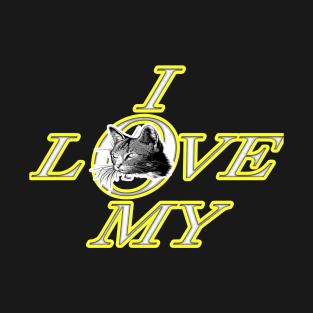 29f774e2aee1c I Love My Cat T-Shirts