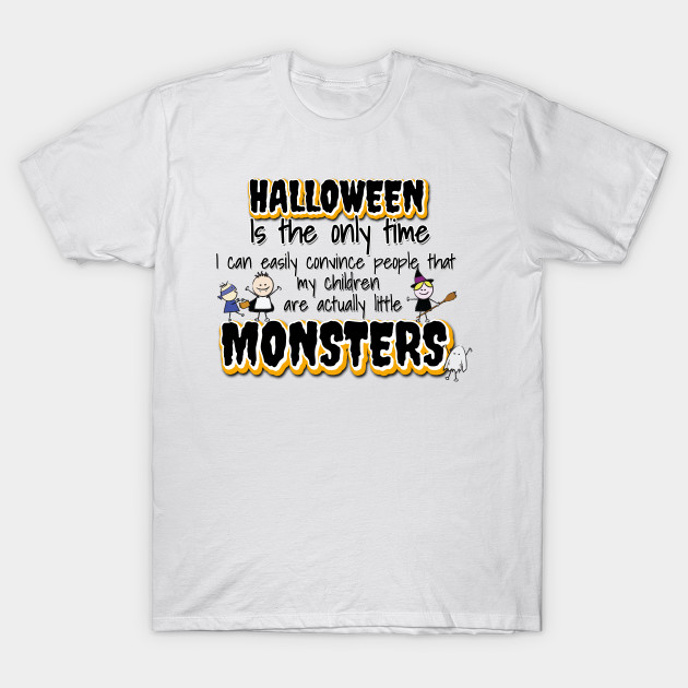 Halloween's Little Monsters T-Shirt