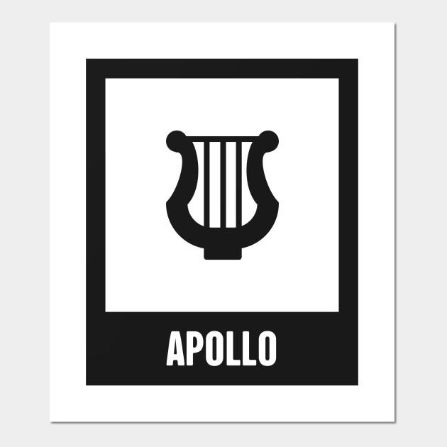 Apollo Greek Mythology God Symbol Greek Mythology Posters And