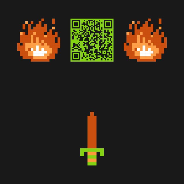 Scan This It's Dangerous To Go Alone