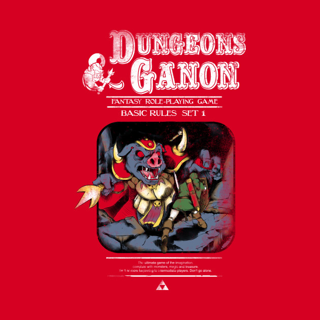 Dungeons and Ganon