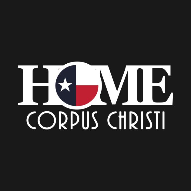 HOME Corpus Christi (white long text)