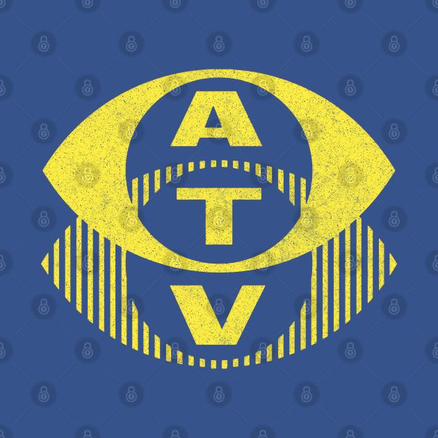 ATV 70s/80s Retro British TV Faded Design