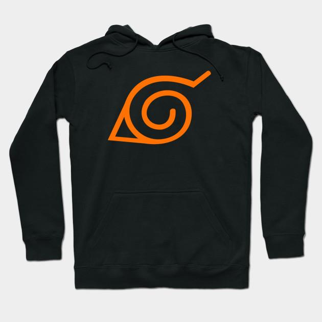 Konoha naruto - Naruto Shippuden - Hoodie | TeePublic