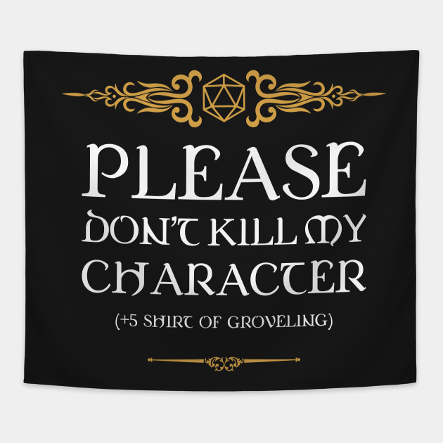 Shirt of Groveling D20 Dice Tabletop RPG Addict