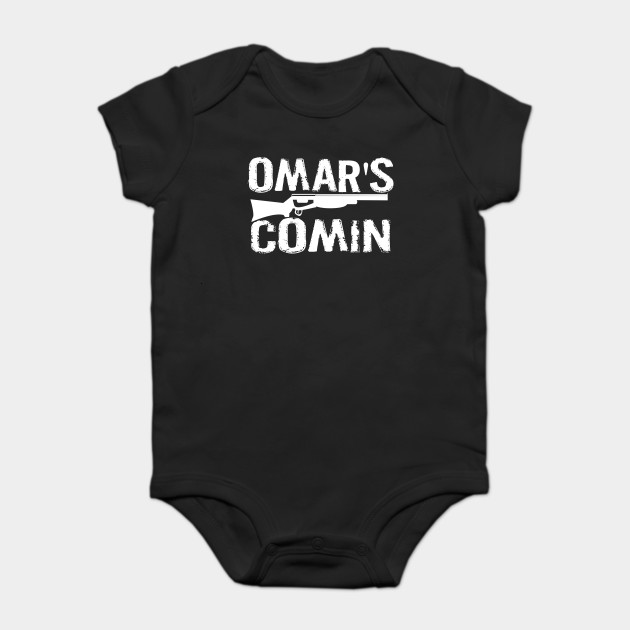 Omar\'s Comin - The Wire - The Wire - Onesie   TeePublic