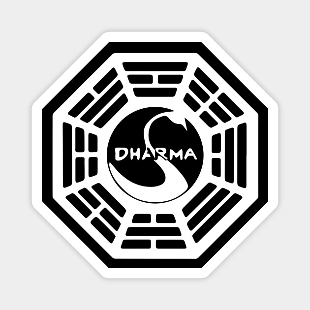 Dharma Initiative Logo - Dharma Initiative - Magnet | TeePublic