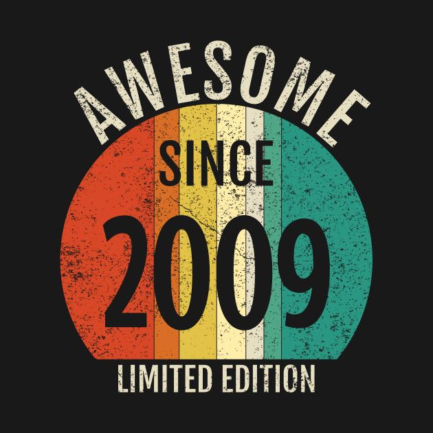 cool retro born in 2009