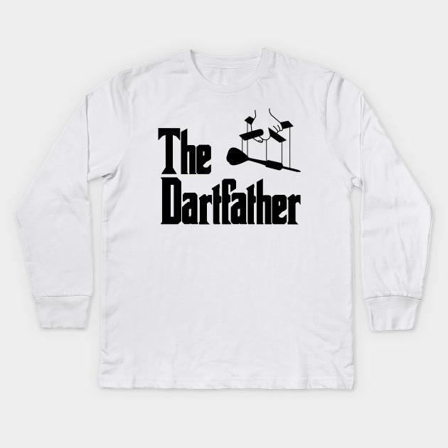 66295d05 The Dartfather Dartsfather Darts PLayer Club Team Funny Pub Gift