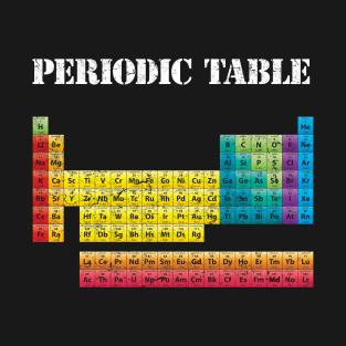 Periodic table of elements t shirts teepublic main tag periodic table t shirt urtaz Images