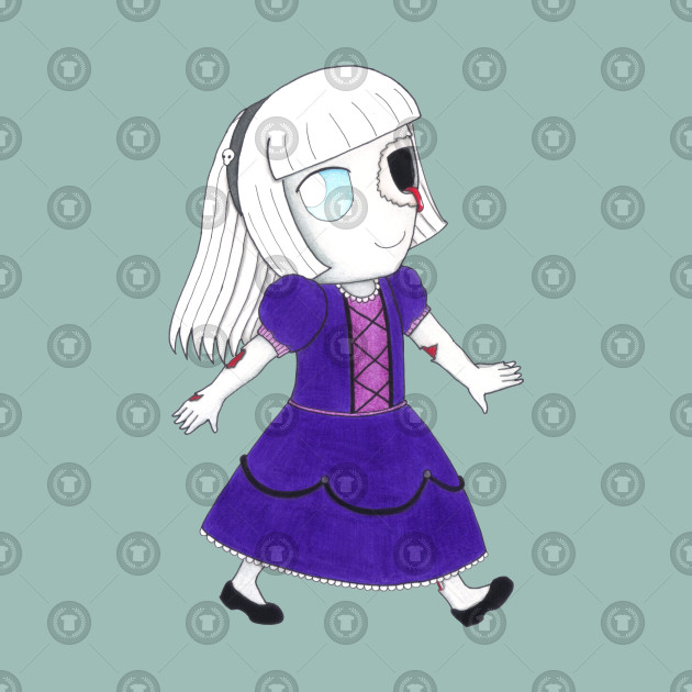 Little Dame Zombie