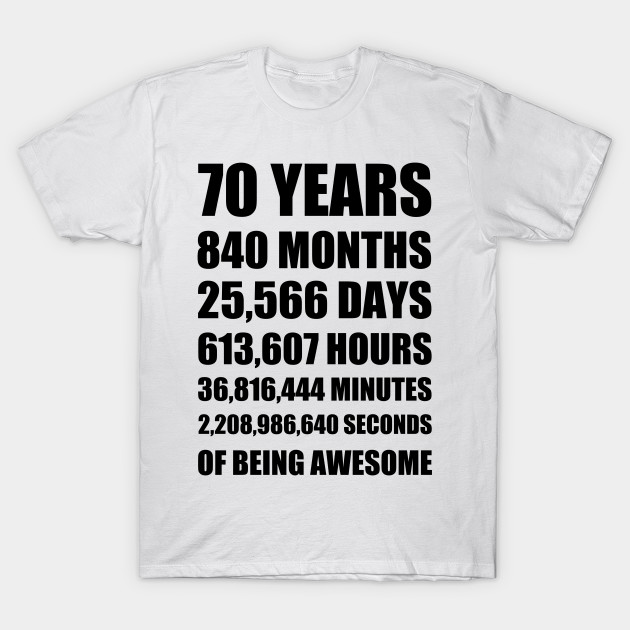 70th Birthday Present Ideas >> 70th Birthday Or 70 Year Anniversary Gift