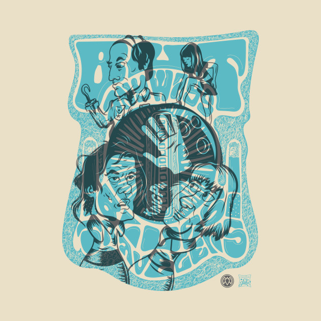KingPin/ But Anyway - Grey/ Blue T-Shirt