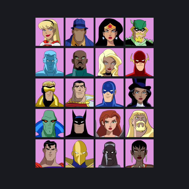 Heroes Justice League Unlimited