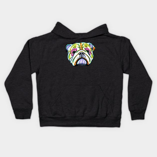 English Bulldog - Day of the Dead Sugar Skull Dog