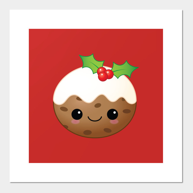 """Christmas Labels//Stickers /""""Xmas Pudding/"""""""