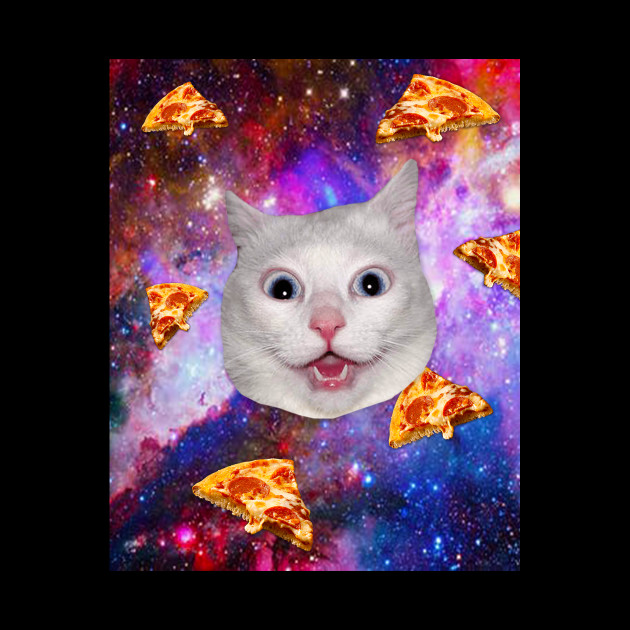 Cat space Pizza
