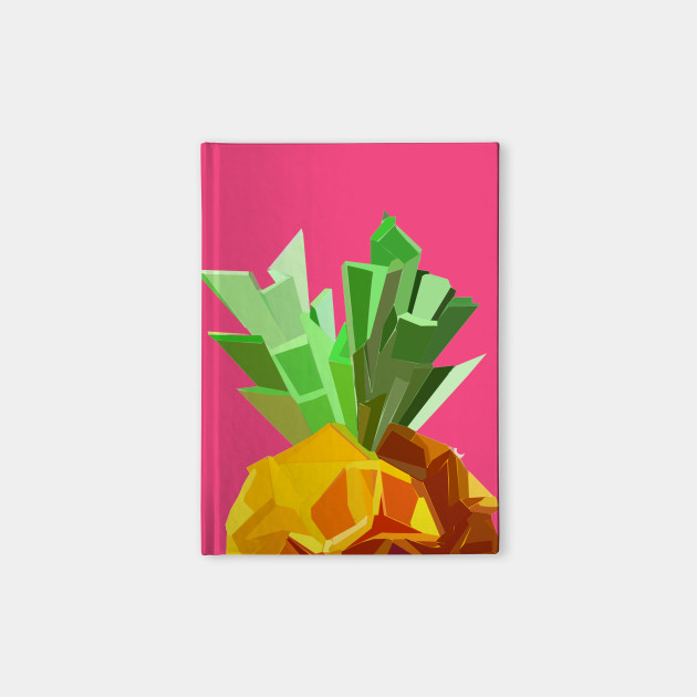 Origami Pineapple Pineapple Notebook Teepublic