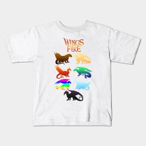 Wings Of Fire Kids T-Shirts | TeePublic