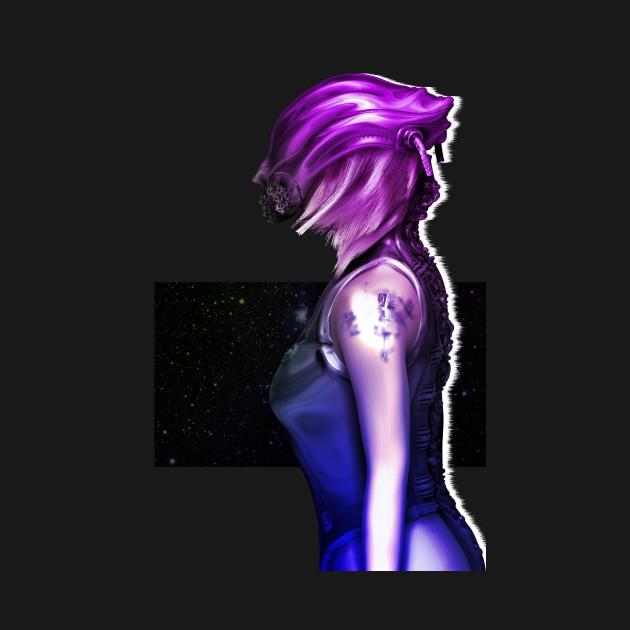 Space girl - Girl - T-Shirt   TeePublic