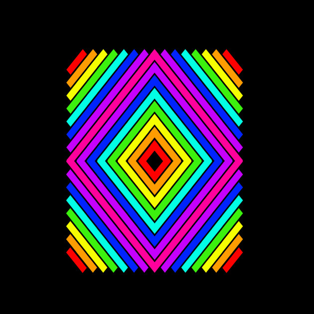 art rainbow pixel diamond maker