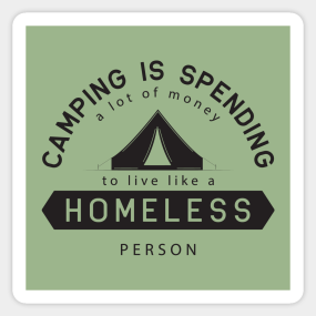 19f22de943f Camping Funny Stickers
