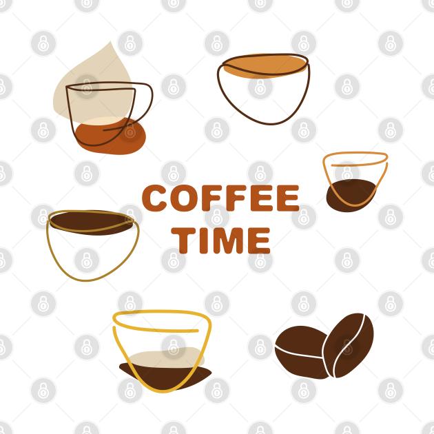 Coffee Time One Line