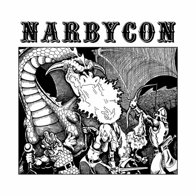 Narbycon 2016 black ink