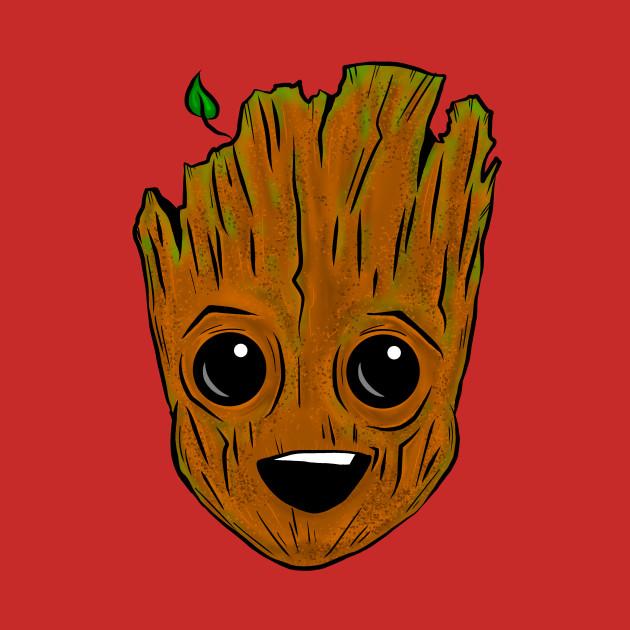 Baby Tree head