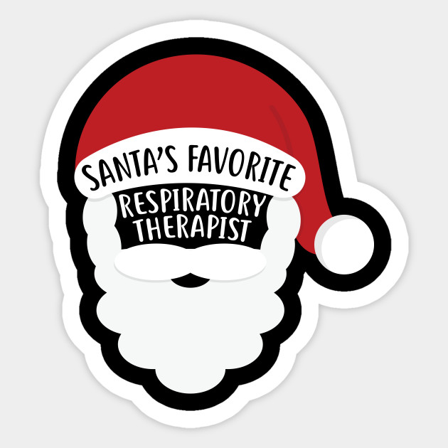 Santa S Favorite Respiratory Therapist Funny Christmas Shirt