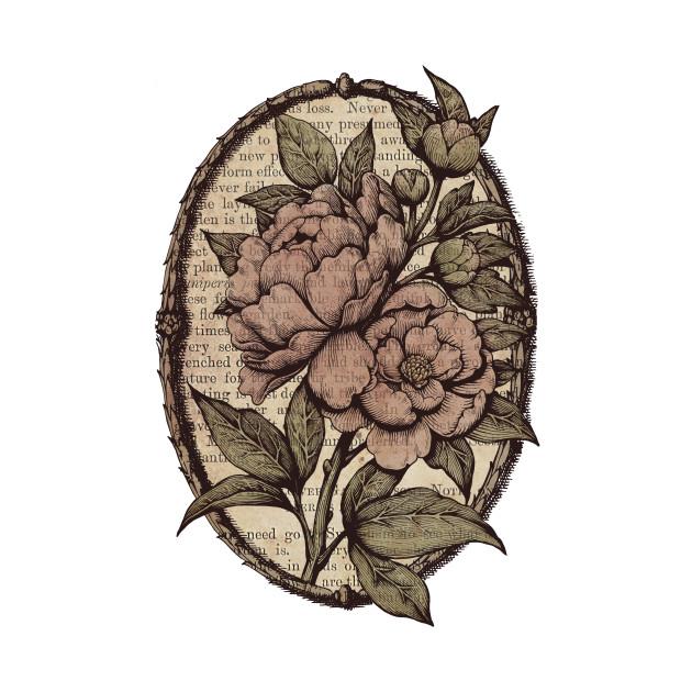 Botanicals: Peonies vintage