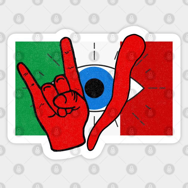 Italian Evil Eye il Malocchio Maloik Malocchio Italy - Italian ...