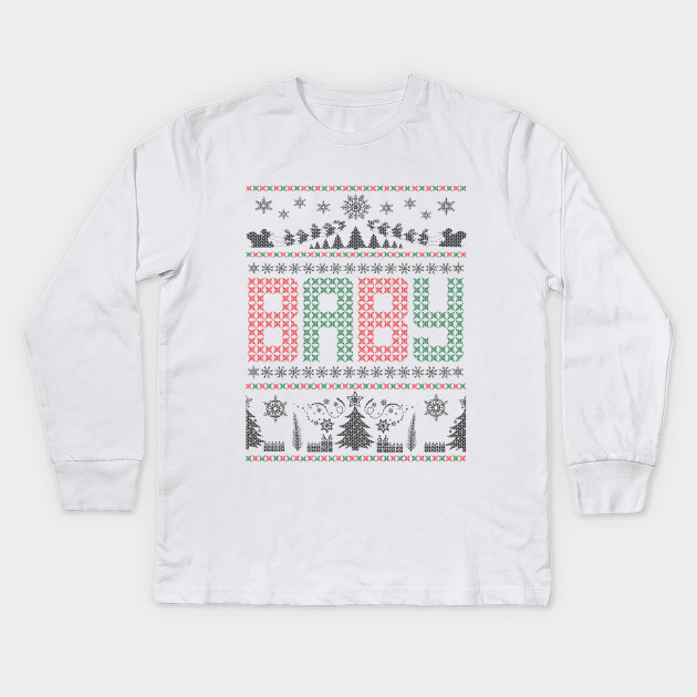 46ca384424bb Ugly Baby Sweater - Ugly Holiday Sweater - Kids Long Sleeve T-Shirt ...