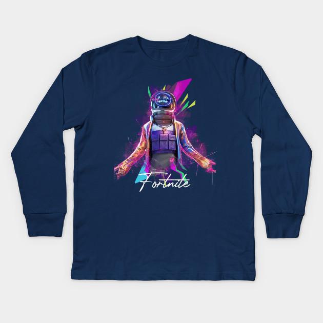 Travis Scott T-shirt Fortnite Kids
