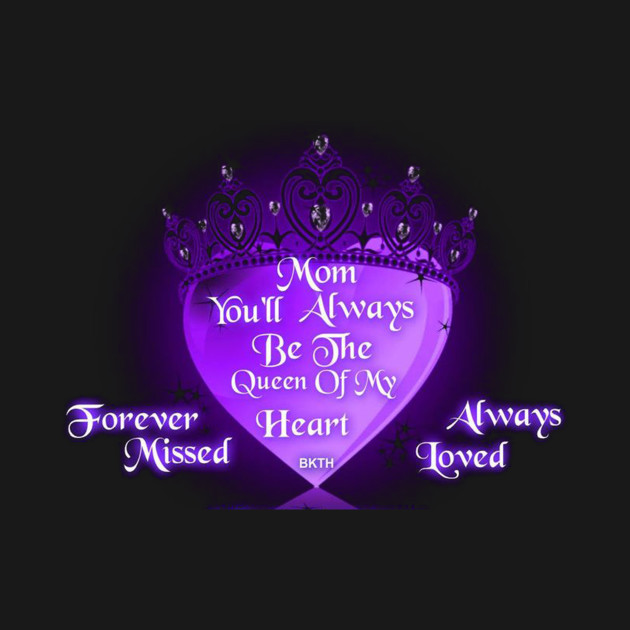 Missing My Mom In Heaven - Missing Mom - T-Shirt