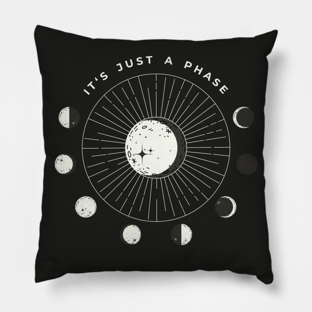 """""""It's Just A Phase"""" Astrology Moon Circular Phase"""