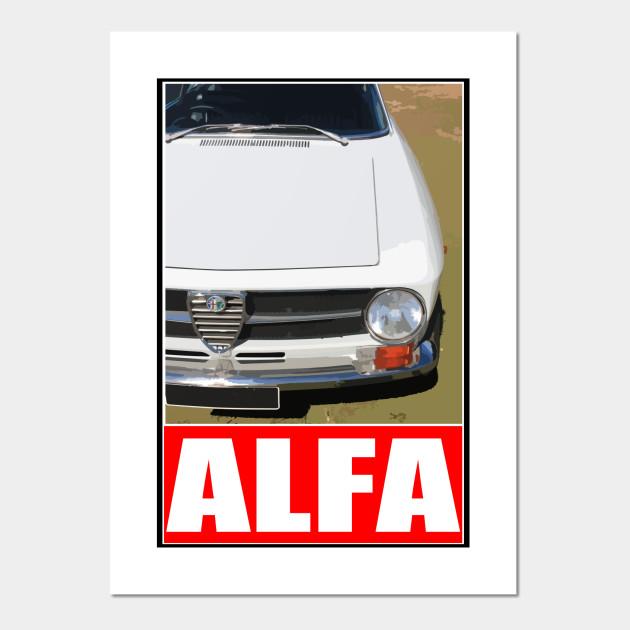 Alfa Romeo Alfa Romeo Posters And Art Prints TeePublic - Alfa romeo posters