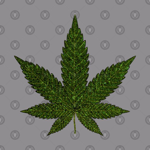 Unique Weed Leaf